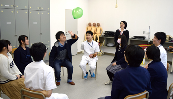 作業療法学科_体験学習